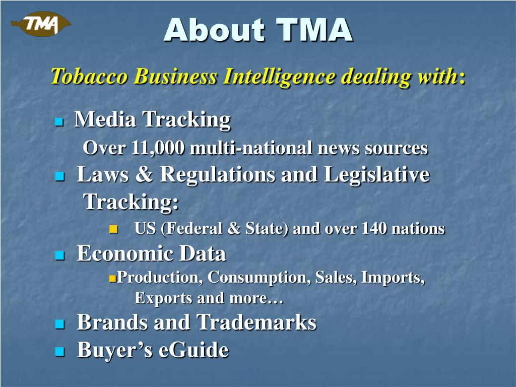 About TMA