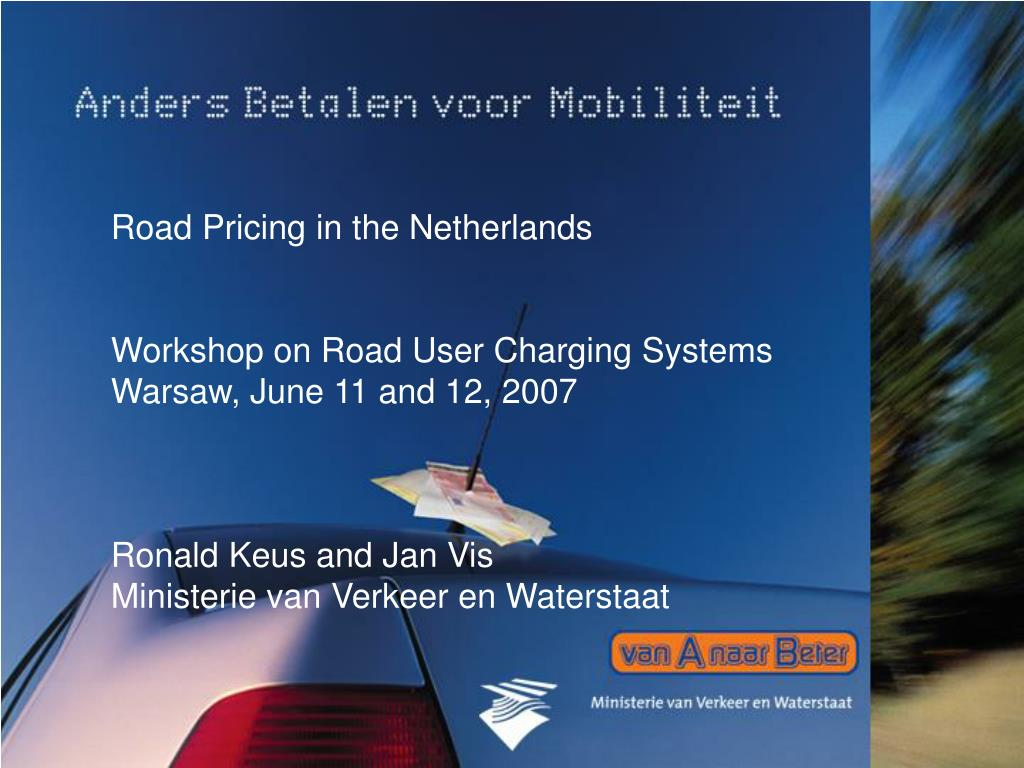 Road Pricing in the Netherlands