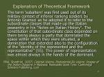 explanation of theoretical framework20