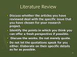 literature review25