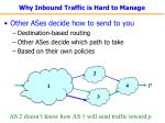 why inbound traffic is hard to manage