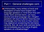 part 1 general challenges cont4