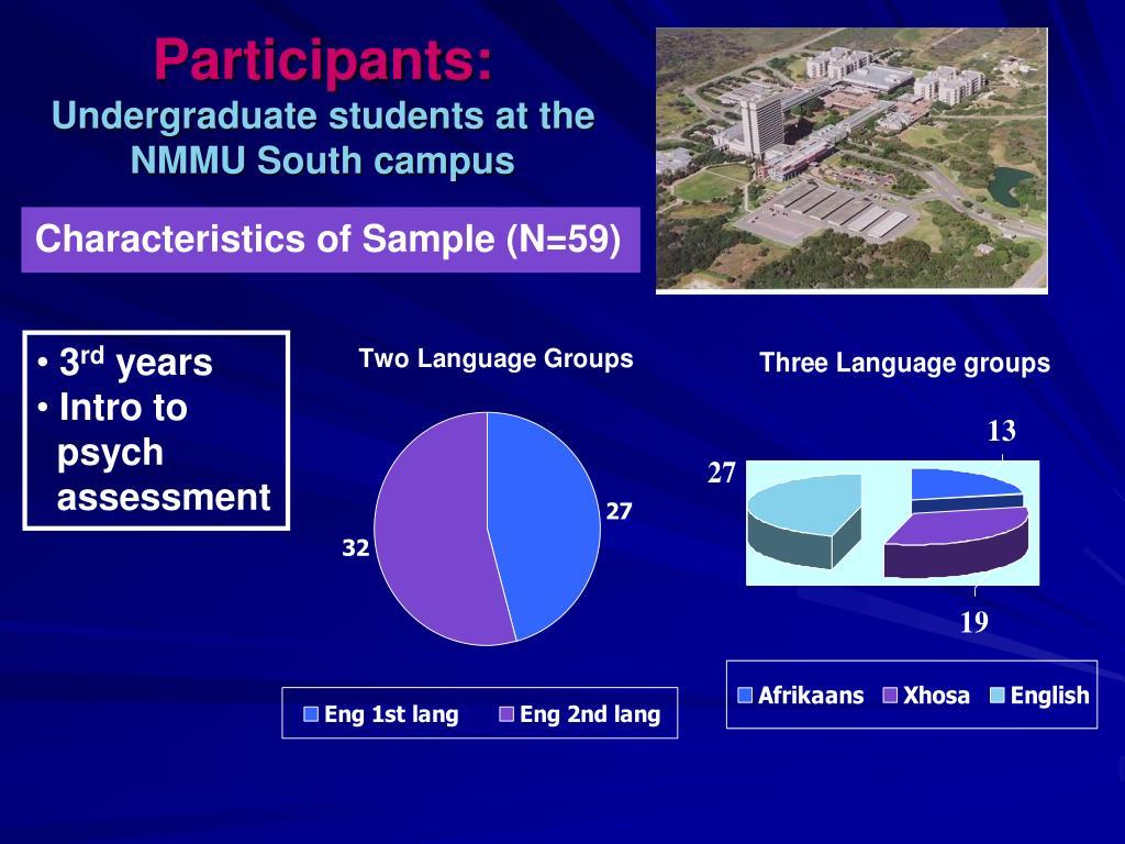 Participants: