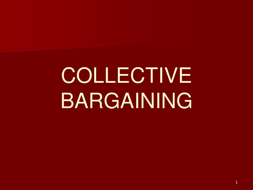 collective bargaining l.