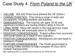 case study 4 from poland to the uk