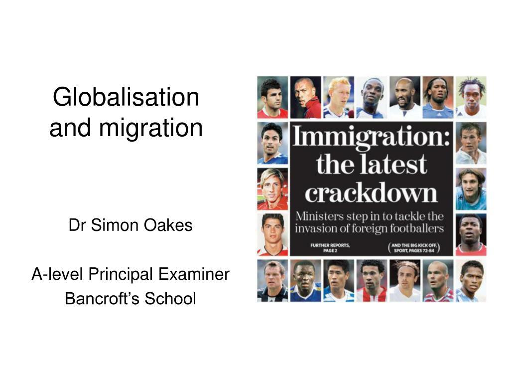 globalisation and migration l.