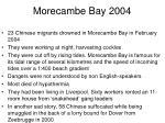 morecambe bay 2004