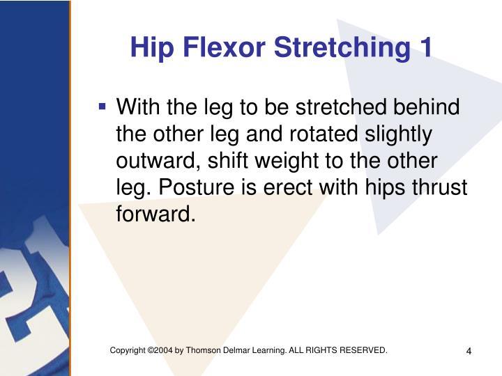 Hip Flexor Stretching 1