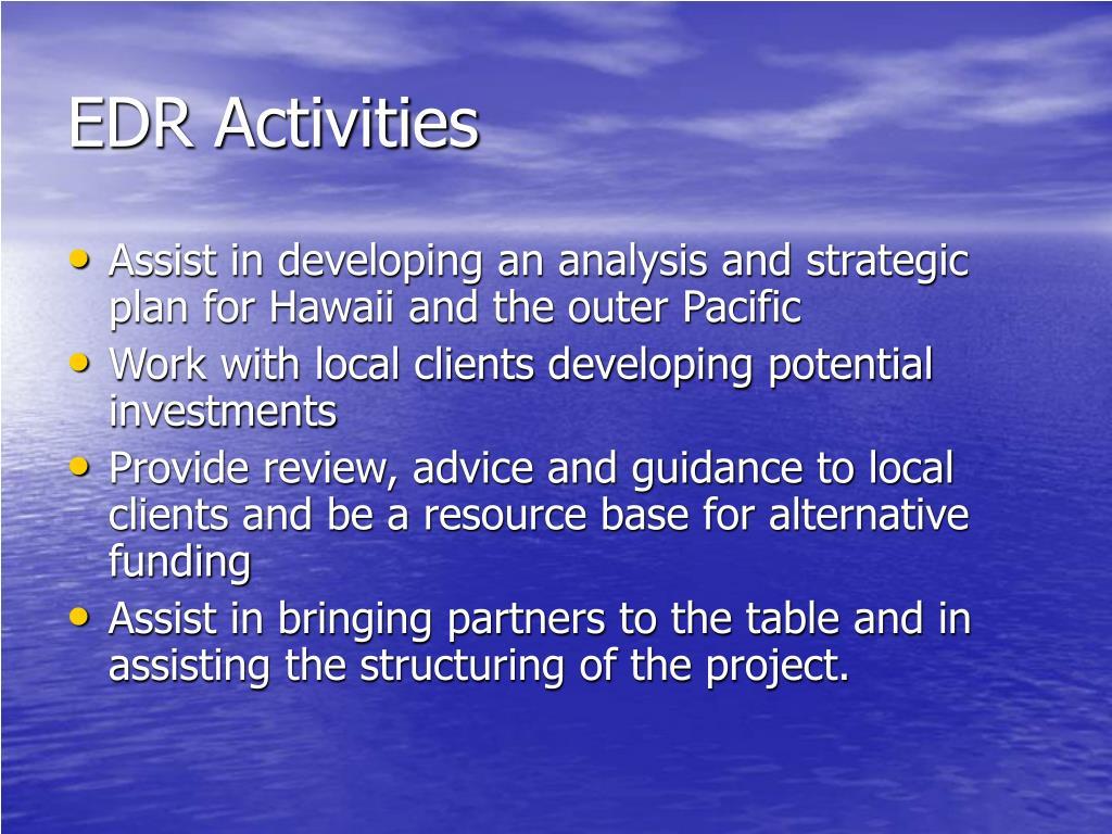 EDR Activities