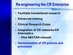 re engineering the cr enterprise