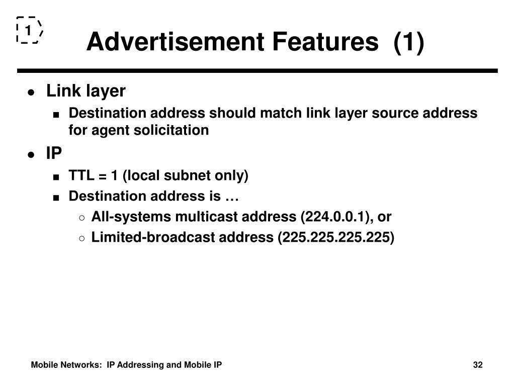 Advertisement Features  (1)