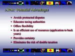 apas potential advantages