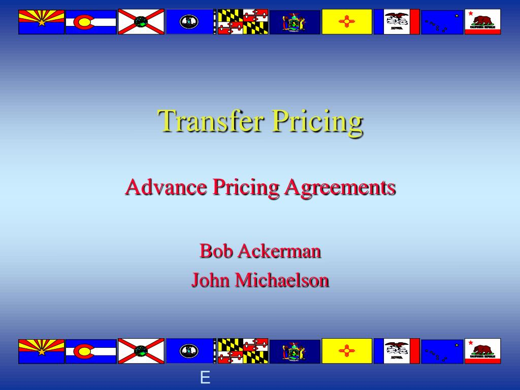transfer pricing l.