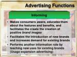 advertising functions10