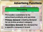advertising functions11