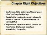 chapter eight objectives4