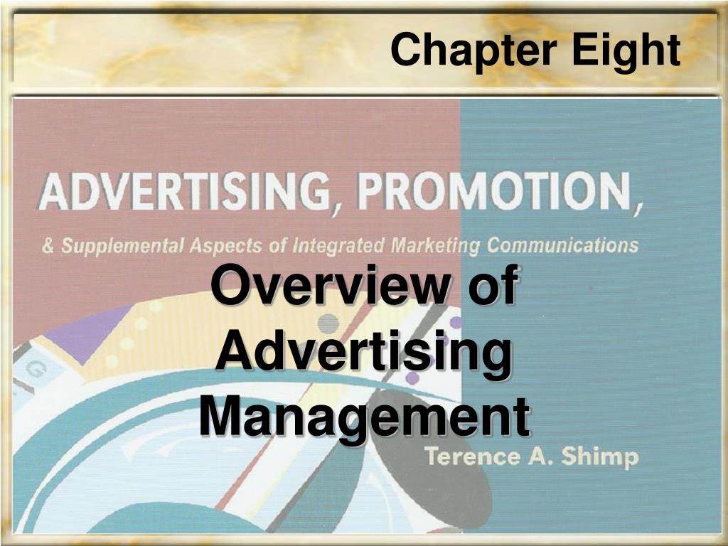 overview of advertising management l.