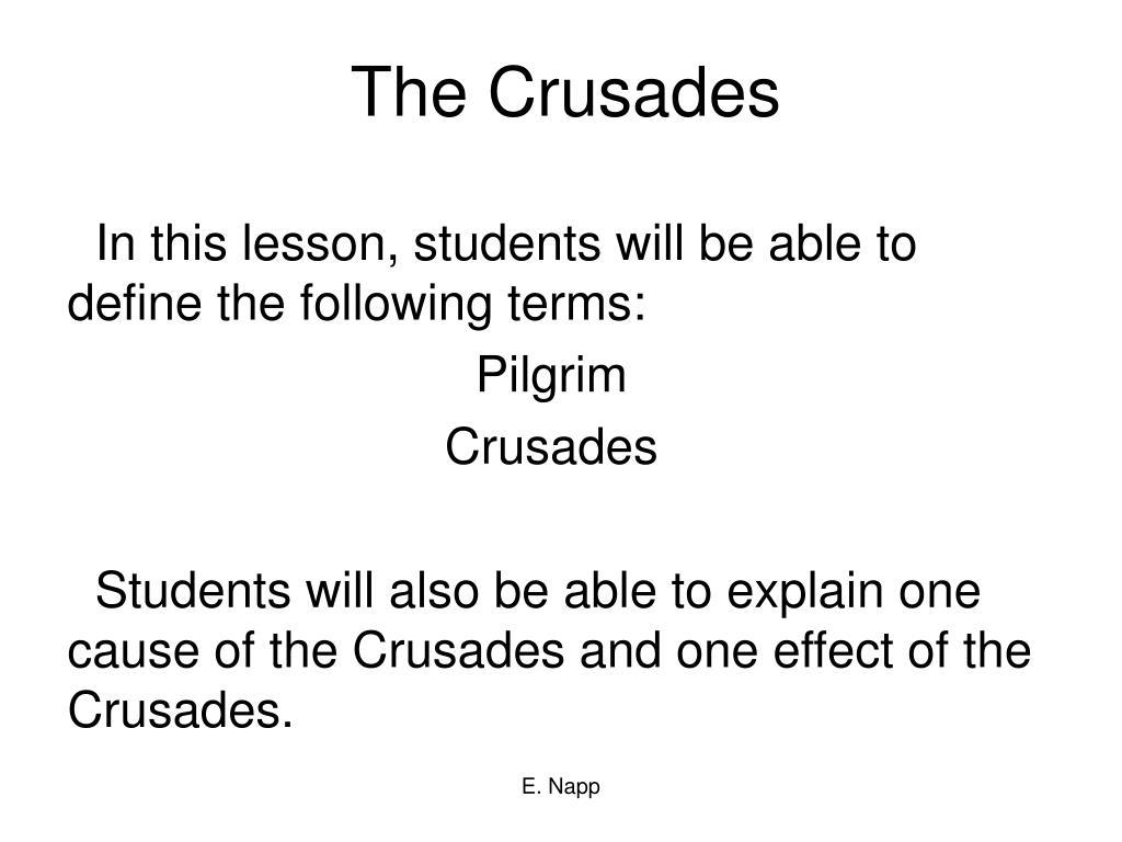the crusades l.