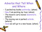 adverbs that tell when and where45