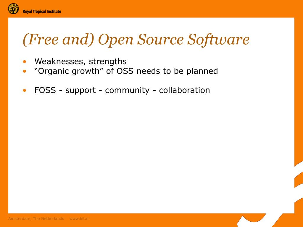 (Free and) Open Source Software