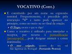 vocativo cont