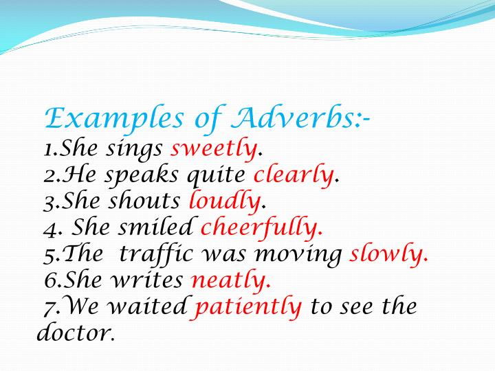 Ppt Adverbs Powerpoint Presentation Id169780