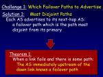 challenge 1 which failover paths to advertise59