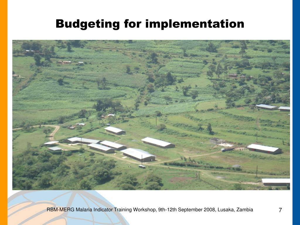 Budgeting for implementation