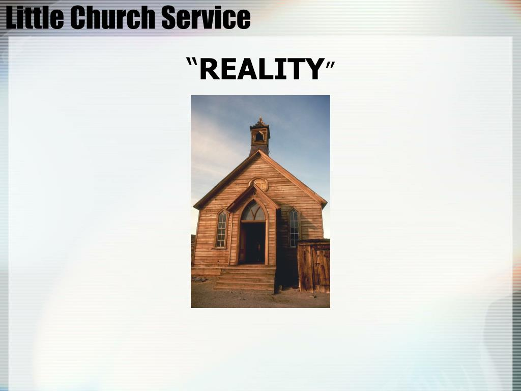 Little Church Service