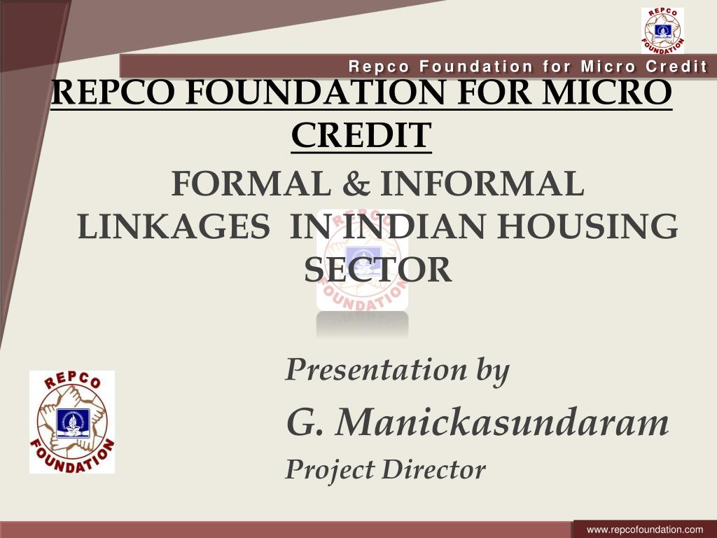 repco foundation for micro credit l.