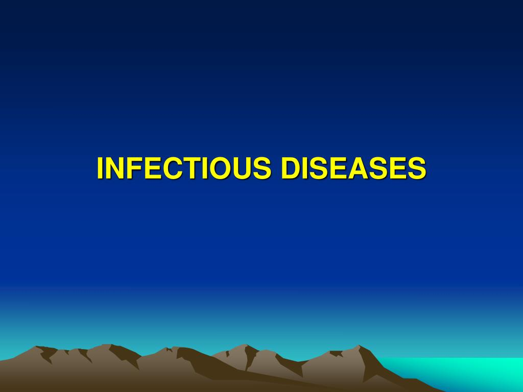 infectious diseases l.