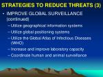 strategies to reduce threats 3
