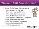 chapter 4 rabbit sends a little help
