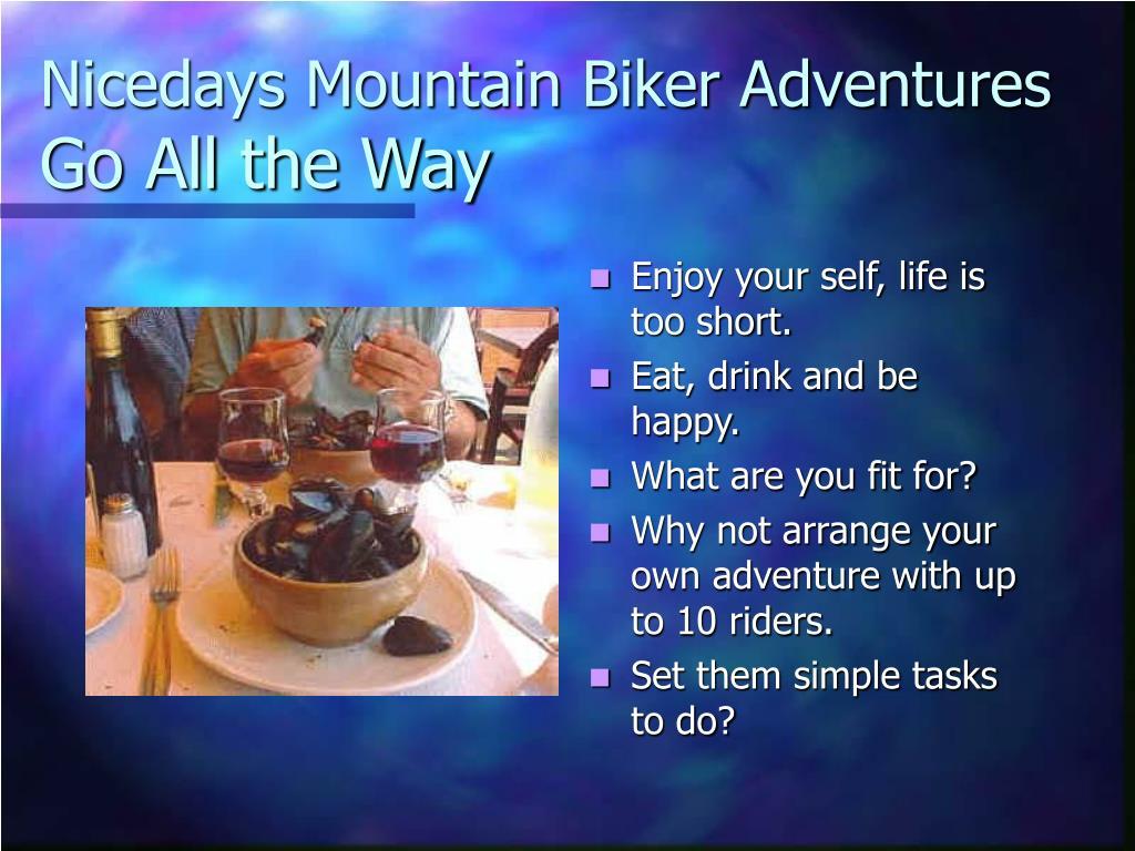 Nicedays Mountain Biker Adventures