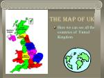 the map of uk
