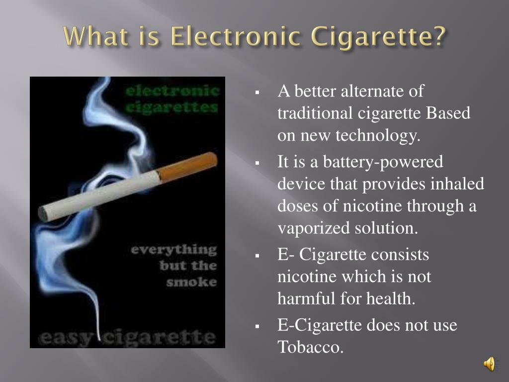 What is Electronic Cigarette?
