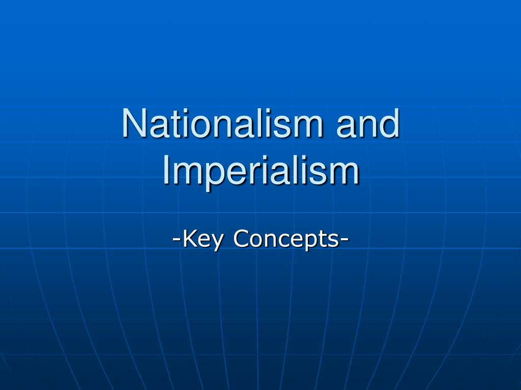 nationalism and imperialism l.