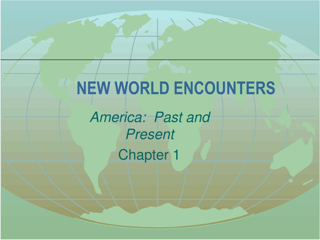 new world encounters l.