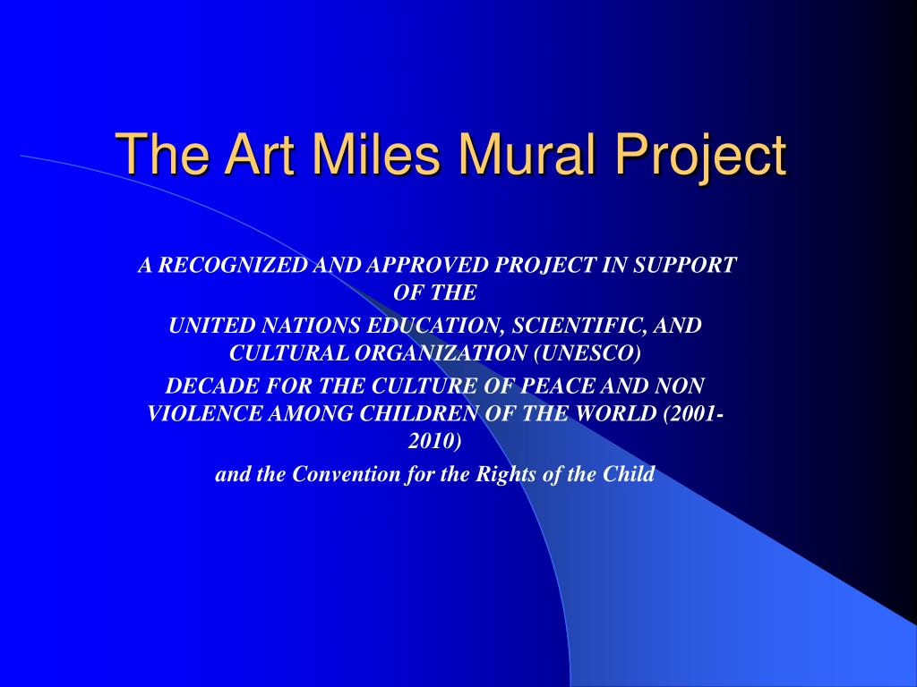 the art miles mural project l.