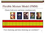 flexible mixture model fmm