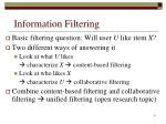 information filtering6
