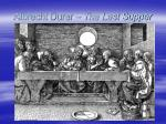 albrecht durer the last supper