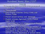 hundred years war 1337 1453