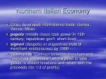 northern italian economy
