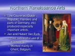 northern renaissance arts