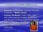 politics of italian city states
