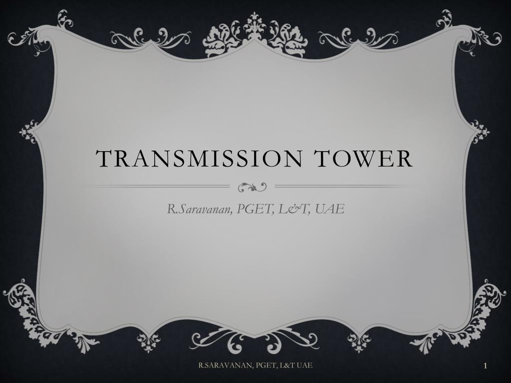 transmission tower l.