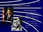 professor lears
