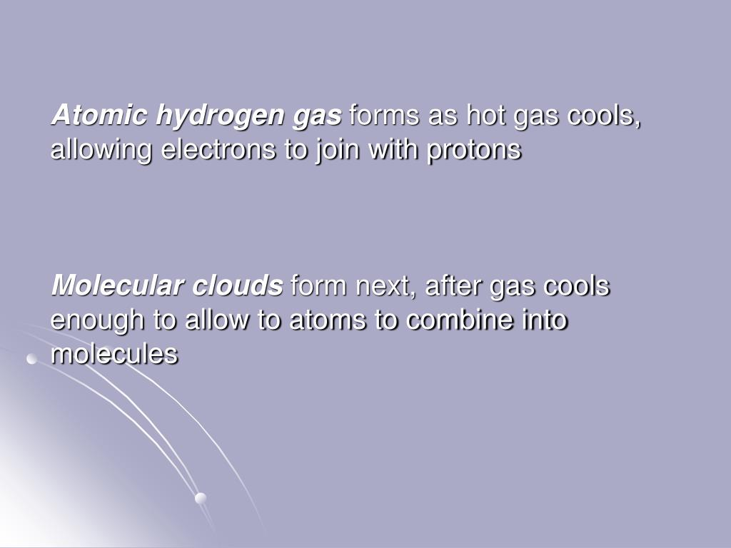 Atomic hydrogen gas