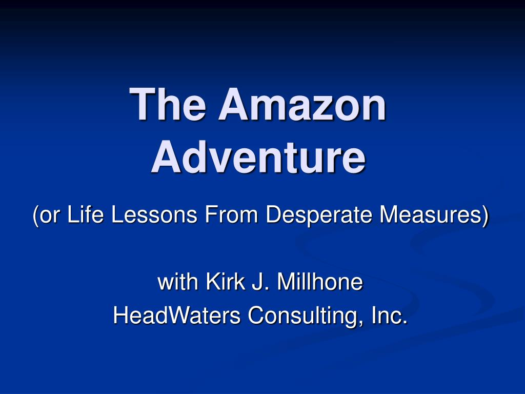 the amazon adventure l.